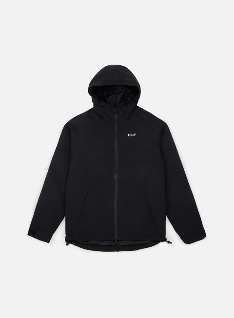 giacche huf standard shell jacket black