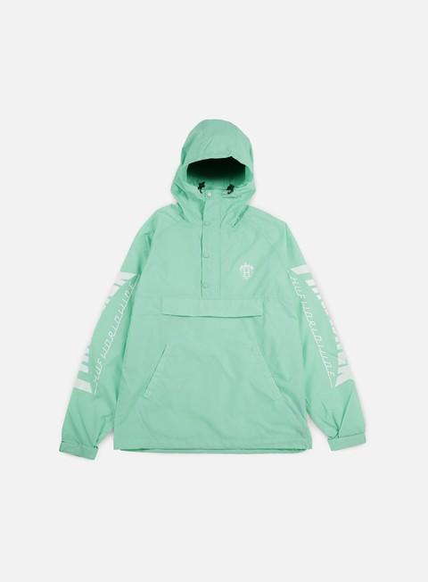 giacche huf thrasher tds anorak jacket mint