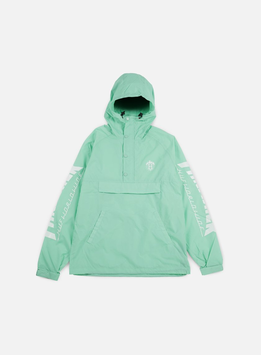 Huf - Thrasher TDS Anorak Jacket, Mint