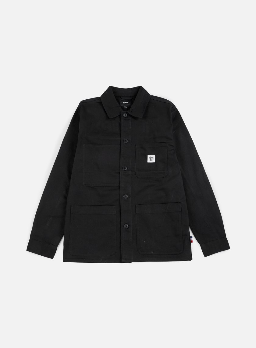Huf - Thrasher TDS Chore Jacket, Black