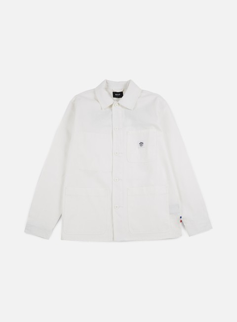 giacche huf thrasher tds chore jacket off white