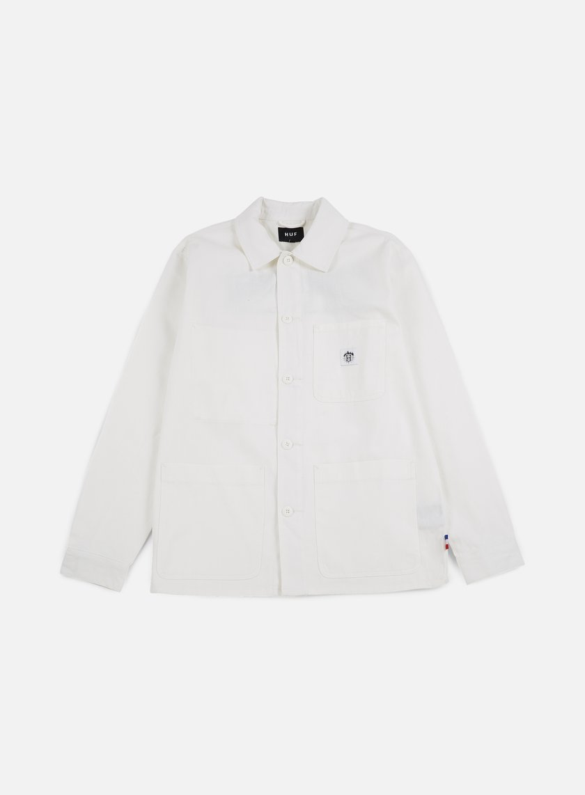 Huf - Thrasher TDS Chore Jacket, Off White