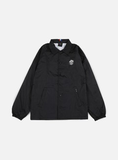 Huf - Thrasher TDS Coach Jacket, Black