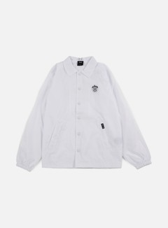 Huf - Thrasher TDS Coach Jacket, White 1