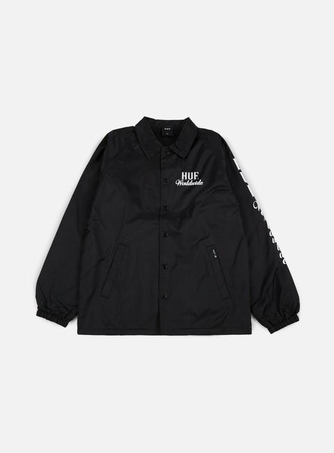 Outlet e Saldi Giacche Leggere Huf Ultra Coach Jacket