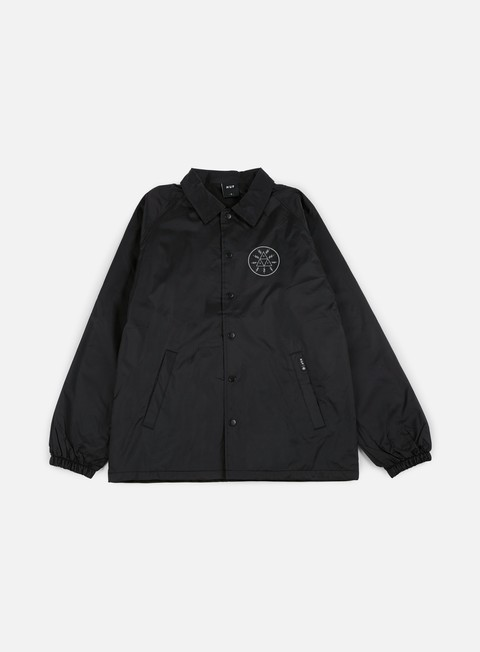 giacche huf voltage coach jacket black