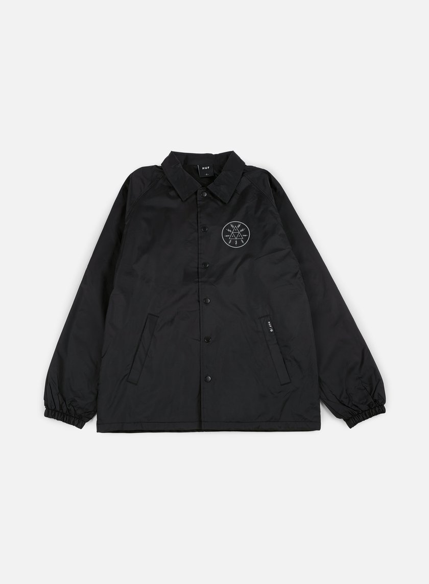 Huf - Voltage Coach Jacket, Black