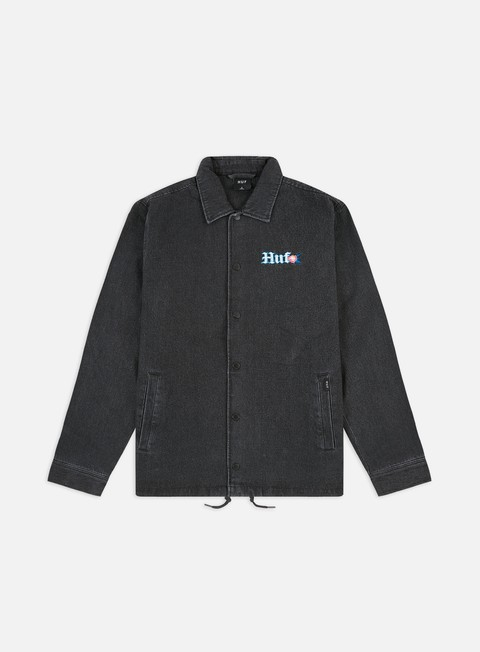 Giacche Leggere Huf Yucatan Denim Coaches Jacket