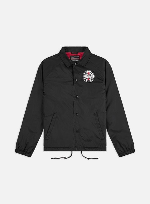 giacche independent truck co coach jacket black
