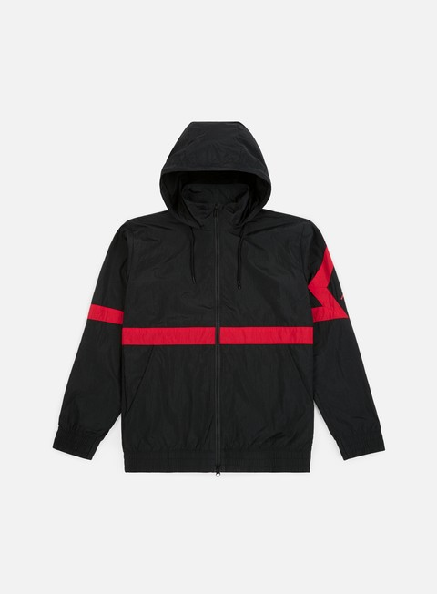 giacche jordan diamond jacket black gym red
