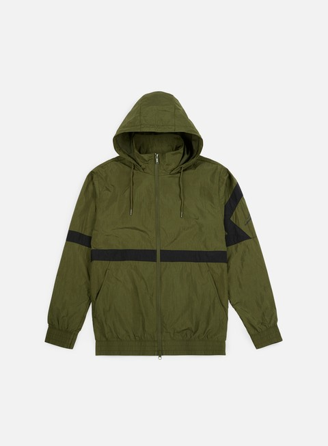 giacche jordan diamond jacket olive black
