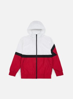 Jordan - Diamond Jacket, White/Gym Red/Black/Black
