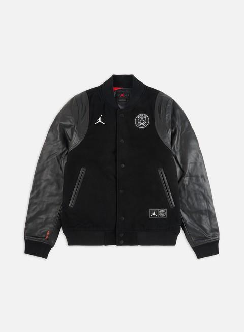 Outlet e Saldi Giacche Intermedie Jordan M J PSG Varsity Jacket