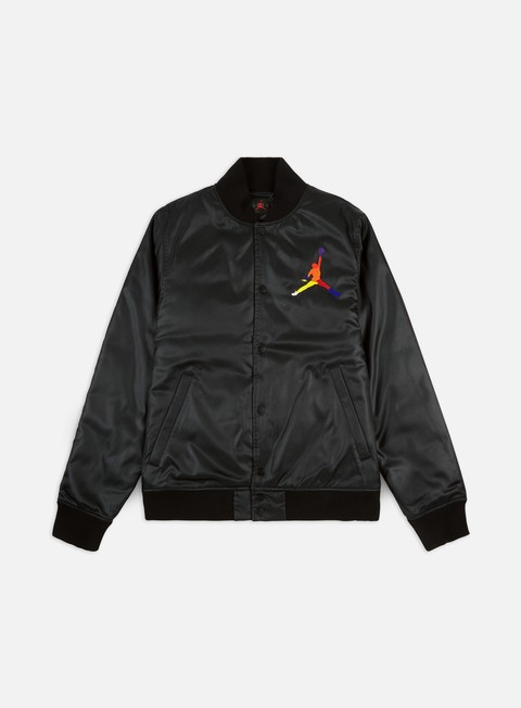 Bomber Jordan Spirit DNA HBR Satin Jacket