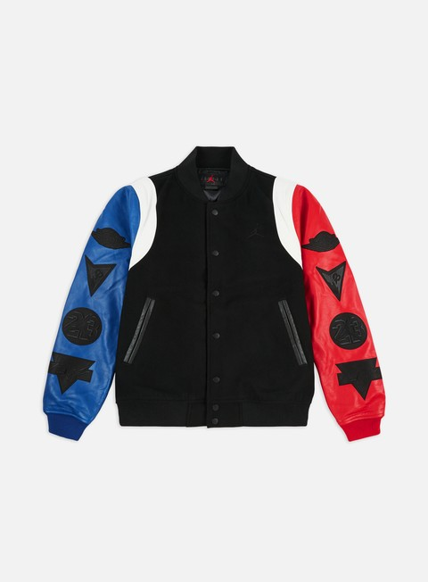 Intermediate Jackets Jordan Sport DNA Varsity Jacket