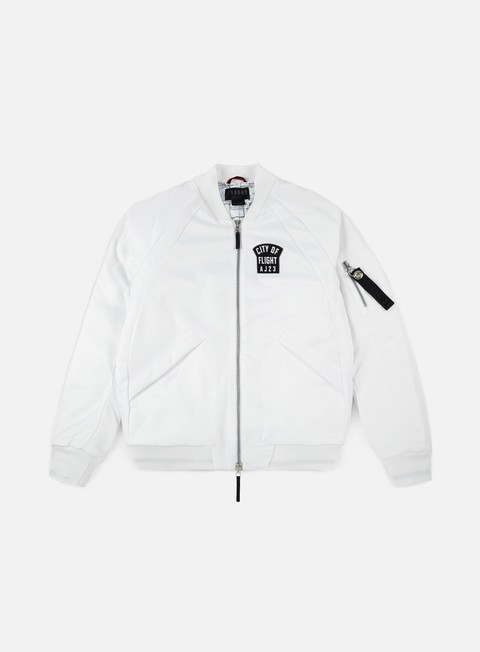 giacche jordan wings city of flight ma 1 jacket white