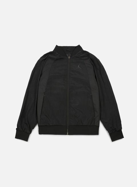 giacche jordan wings muscle jacket black black
