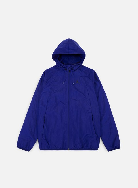 giacche jordan wings windbreaker deep royal blue black