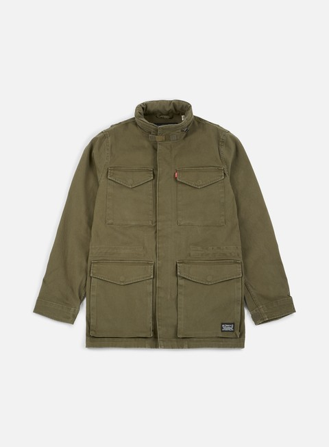 giacche levi s sutro field jacket olive night