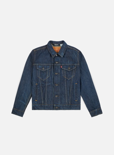 giacche levi s the trucker jacket conifer trucker