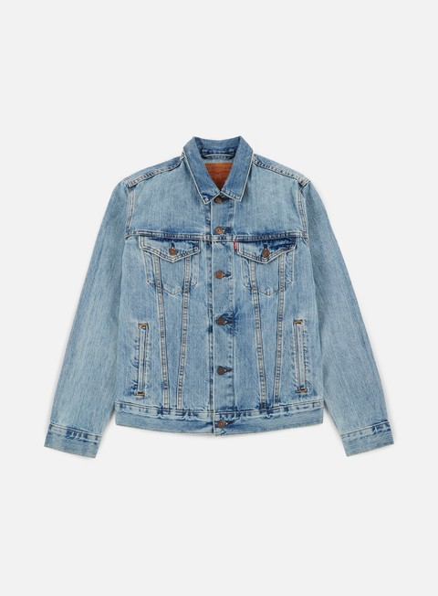 giacche levi s the trucker jacket icy light indigo