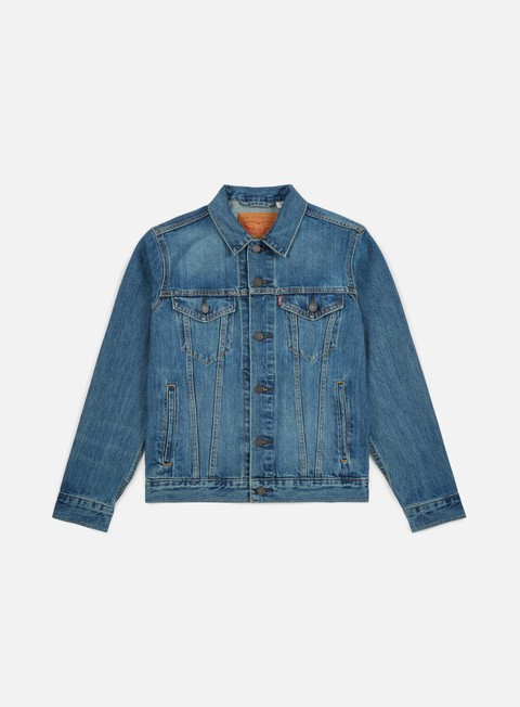 giacche levi s the trucker jacket the shelf blue