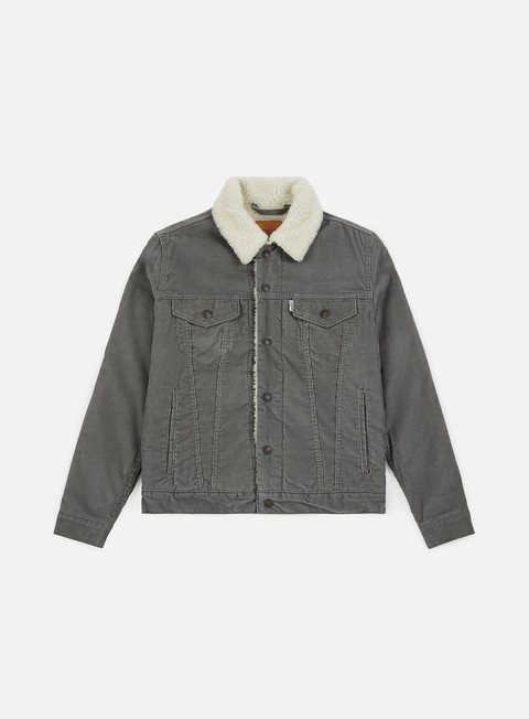 Outlet e Saldi Giacche Intermedie Levi's Type 3 Sherpa Trucker Jacket