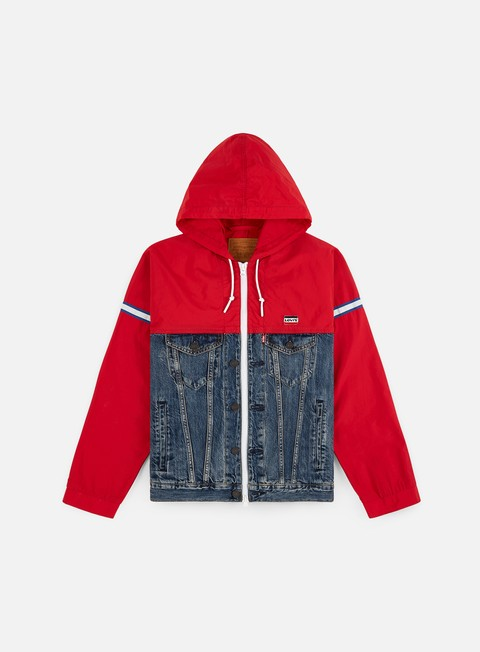 Light Jackets Levi's Unbasic Trucker Parka Jacket
