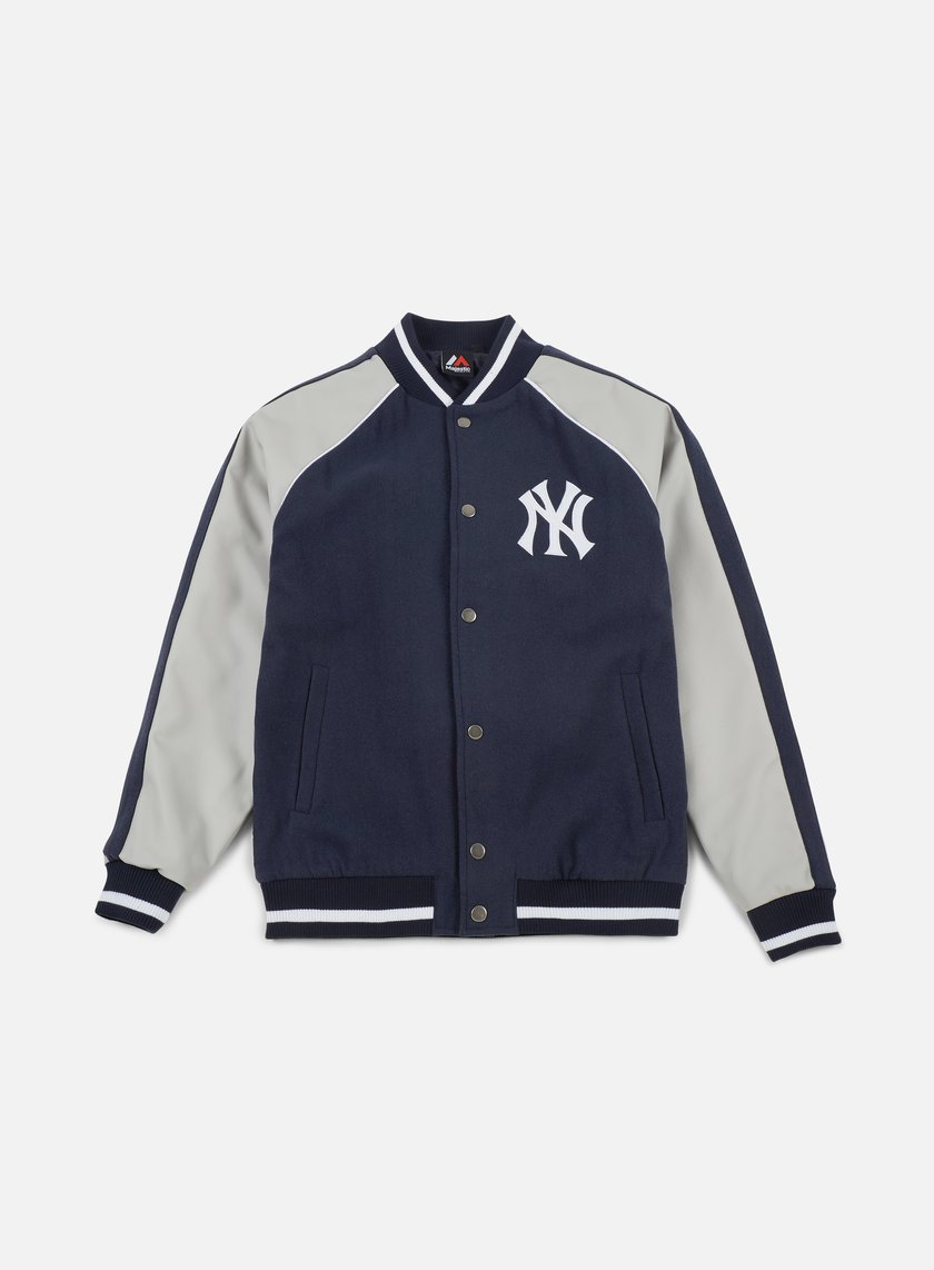 656accdab MAJESTIC Melton Letterman Jacket NY Yankees € 88 Intermediate ...