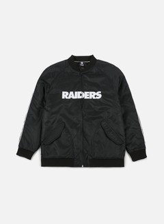 Majestic - Soft Touch Varsity Jacket Oakland Raiders, Team Colors 1