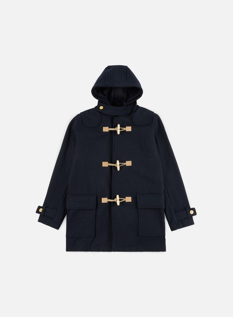 giacche makia duffle coat navy