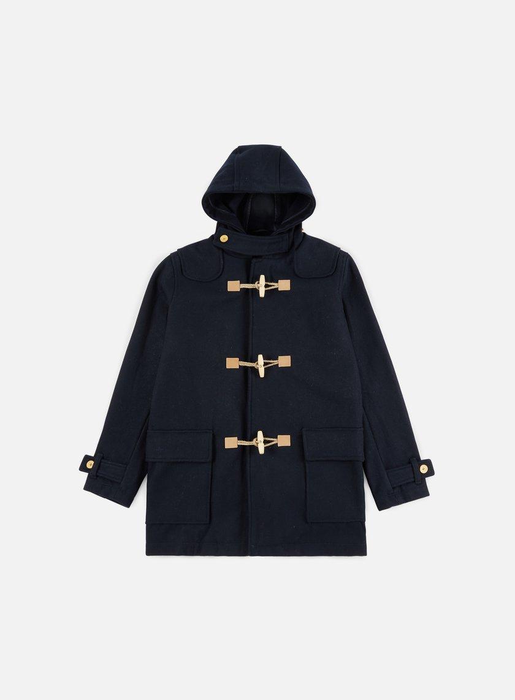 Makia - Duffle Coat, Navy