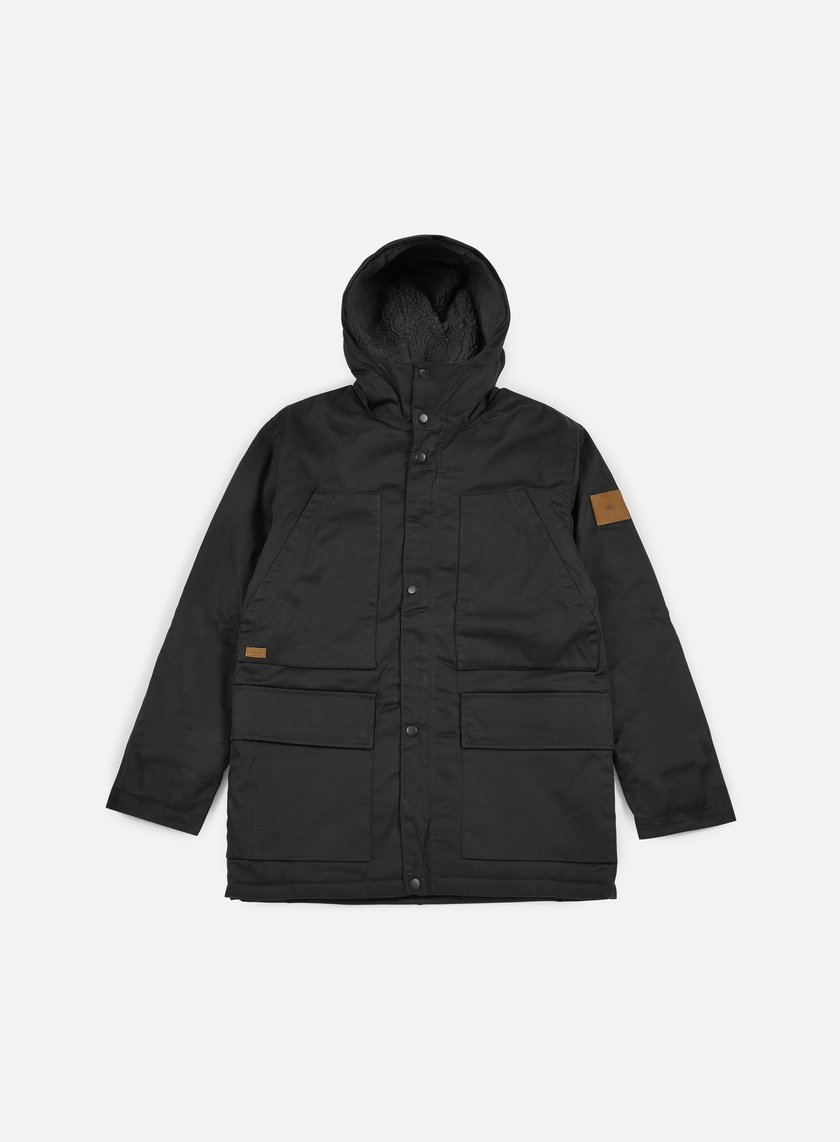 Makia - Field Jacket, Black