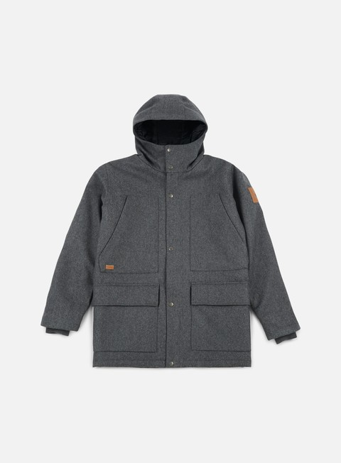 giacche makia field jacket grey wool