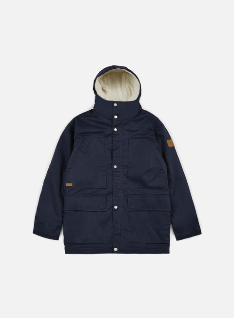 giacche makia field jacket navy