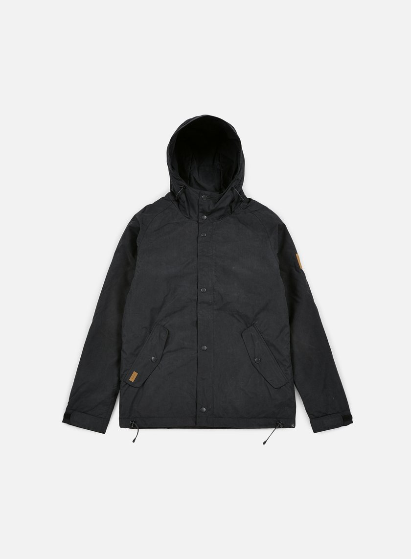 Makia - Lined Raglan Jacket, Black