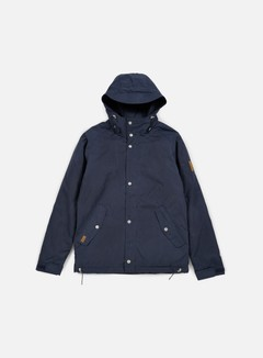 Makia - Lined Raglan Jacket, Navy 1