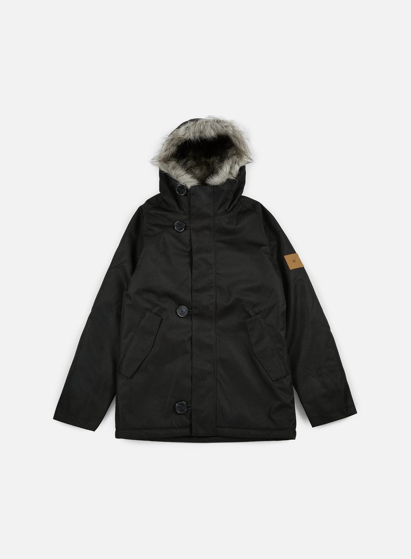 Makia - Original Raglan Parka, Black
