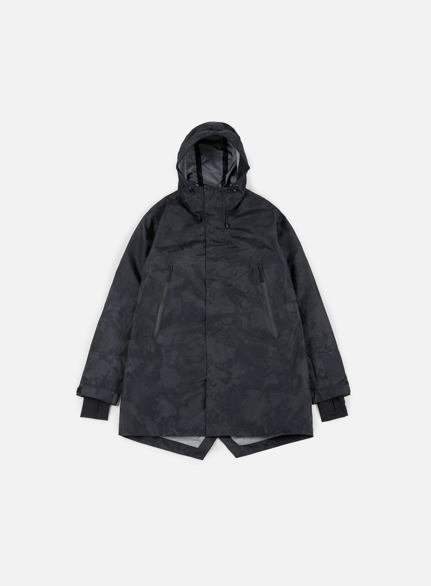 Makia - Storm Jacket, Black Camo