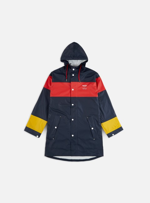 Light Jackets Makia Tretorn x Makia Block Rainjacket