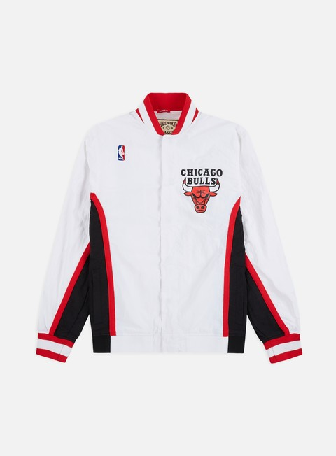 Outlet e Saldi Giacche Leggere Mitchell & Ness Authentic Warm Up Jacket Chicago Bulls