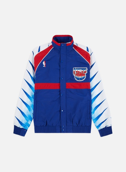 Light Jackets Mitchell & Ness Authentic Warm Up Jacket New Jersey Nets