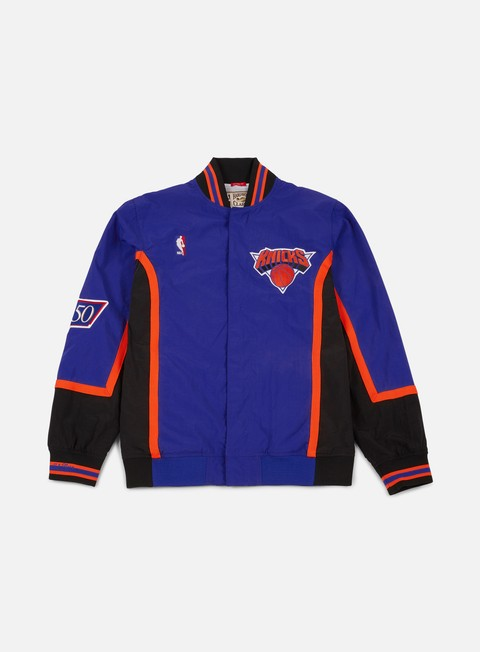 Mitchell & Ness Authentic Warm Up Jacket NY Knicks