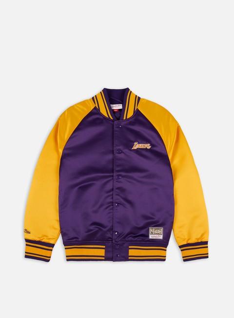 Mitchell & Ness Big Face Colossal Jacket LA Lakers
