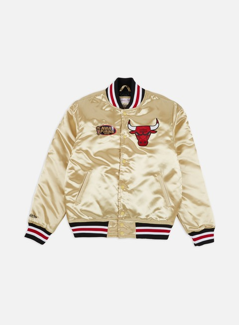 Intermediate Jackets Mitchell & Ness Championship Game Satin Jacket Chicago Bulls