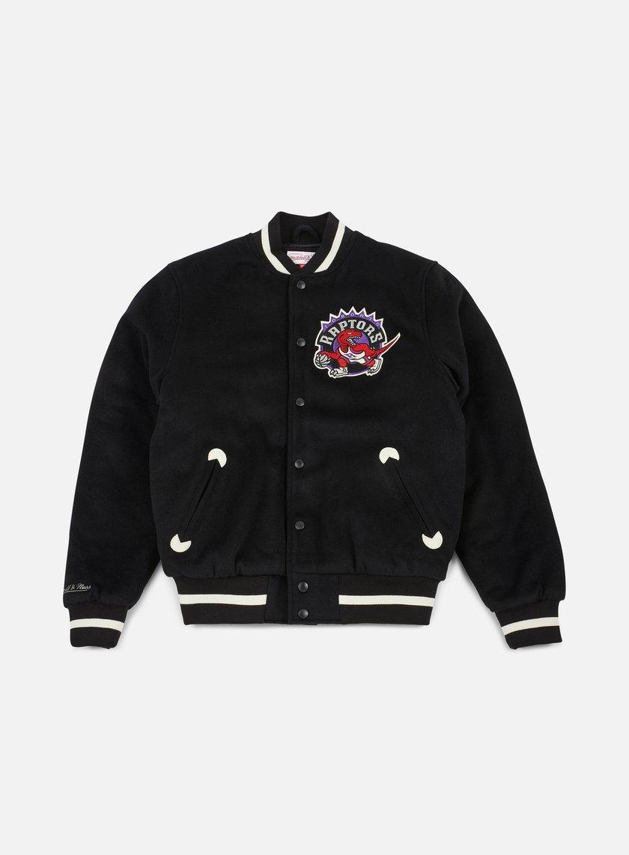 Mitchell & Ness - In The Stands Varsity Jacket Toronto Raptors, Black