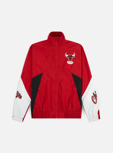 Outlet e Saldi Giacche Leggere Mitchell & Ness Midseason Windbreaker 2.0 Chicago Bulls