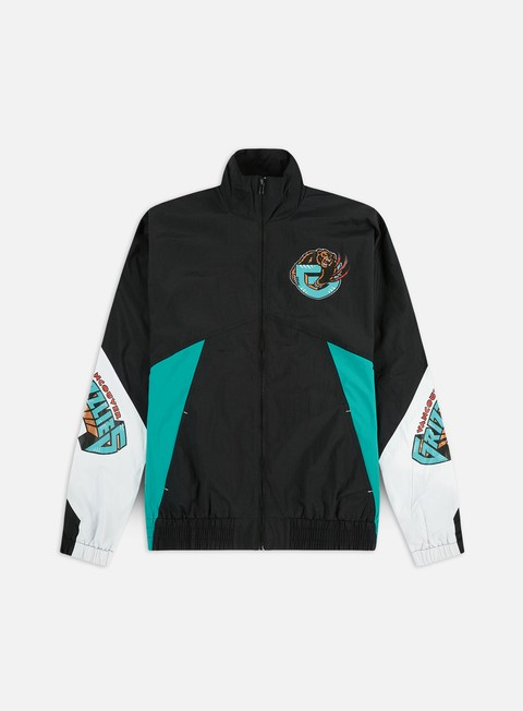 Light Jackets Mitchell & Ness Midseason Windbreaker 2.0 Vancouver Grizzlies