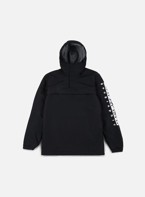 giacche napapijri asher anorak black
