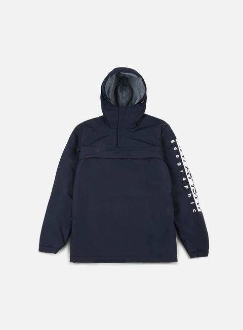 giacche napapijri asher anorak blu marine